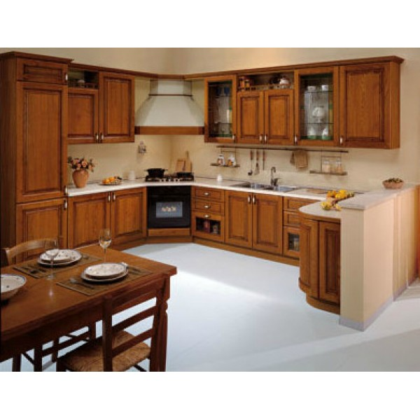 Kitchen from Solid Wood